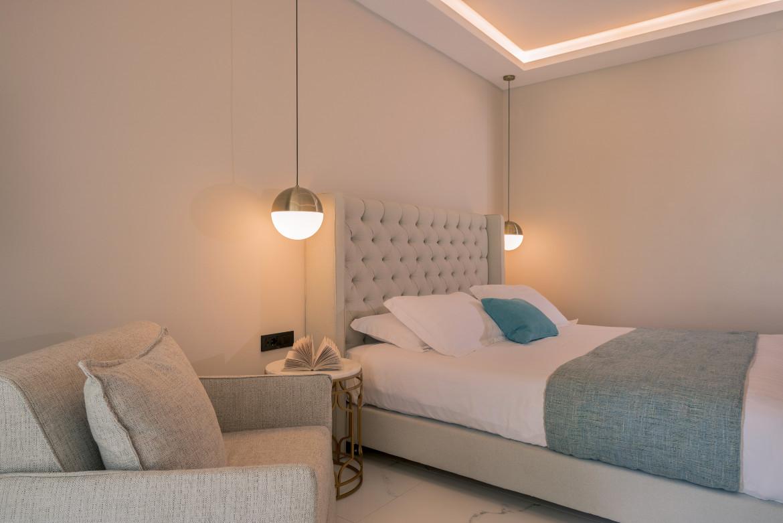 Bedroom of the suite II