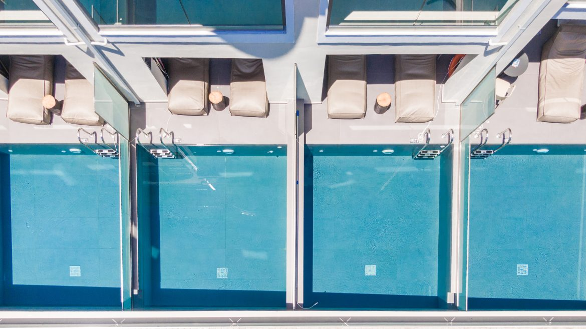 Private pools view III